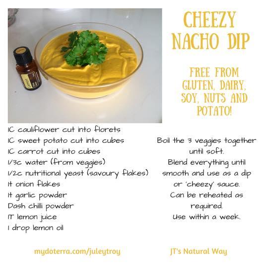 cheezy nacho dip